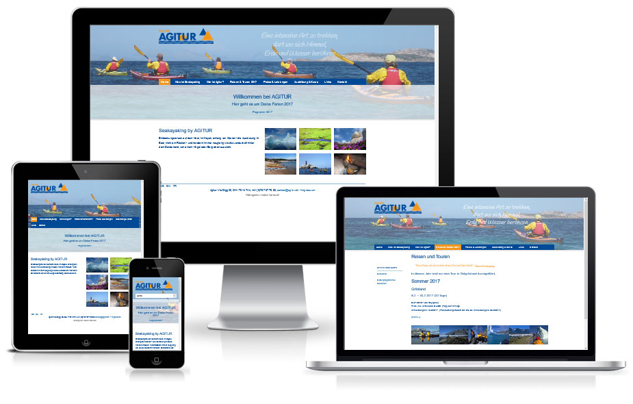 Website Referenz - Reiseanbieter