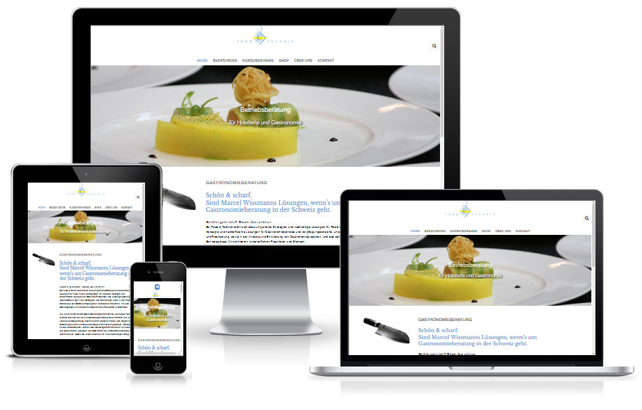 Website Referenz - Gastronomieberatung
