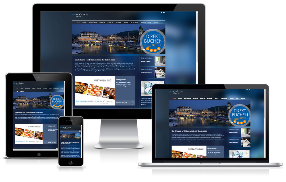 Webdesign Referenz - Restaurant Lachen