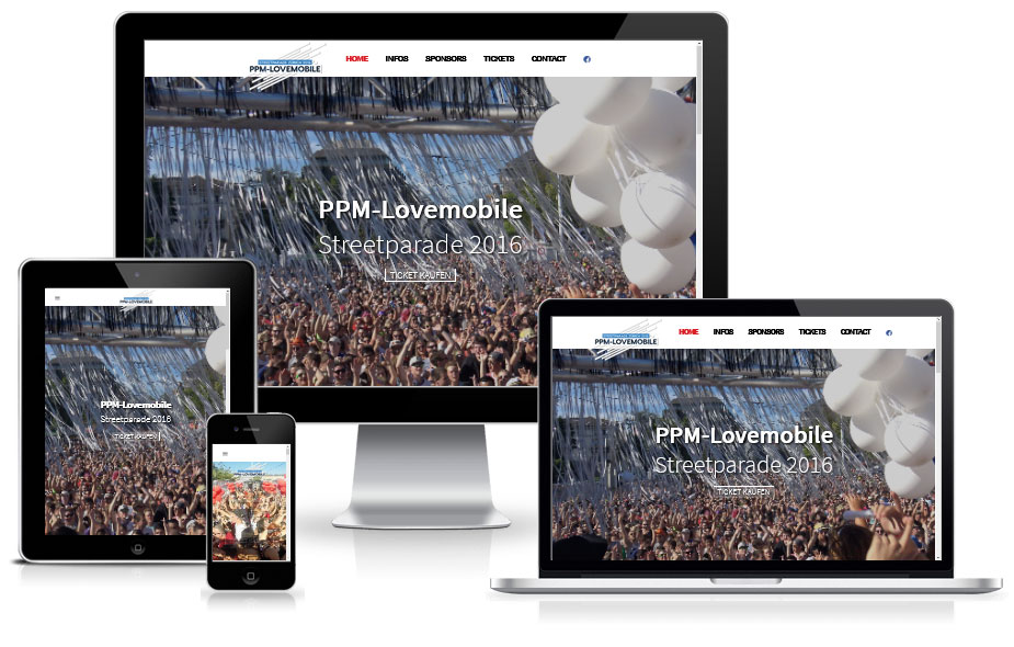 Website Referenz - Streetparade
